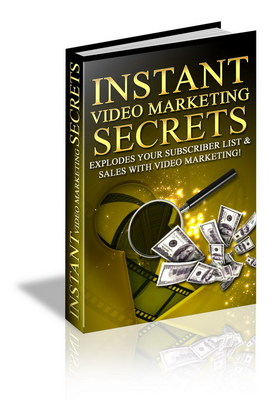Product picture Instant Video Marketing - Make money online